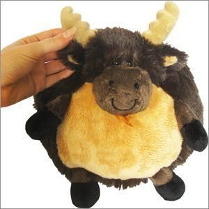 "Mini Squishable Moose 7"" Plush Toy"