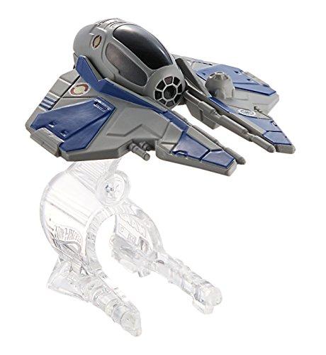 Hot Wheels Star Wars Obi-Wan Kenobi's Jedi Starfighter Starship Vehicle
