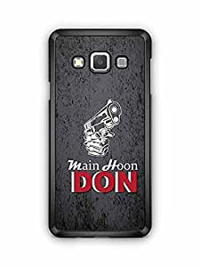 YuBingo Main Hoon Don Designer Mobile Case Back Cover for Samsung Galaxy A3