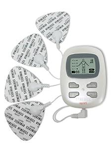 Homedics HST-100-2EU - Electroestimulador multiusos, con 4 almohadillas de contacto