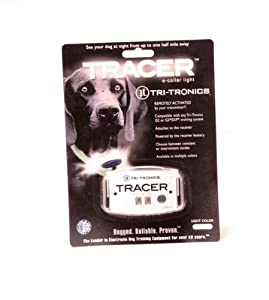Tri-Tronics Tracer E-Collar Light - White