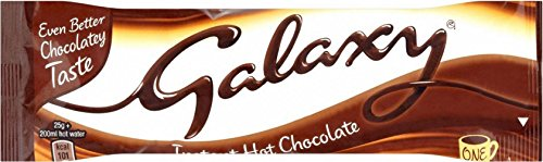 Galaxy Instant Hot Chocolate Drink (25 g) - Packung mit 2