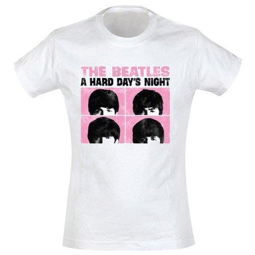 Beatles - Girl-Shirt Hard Days Night (in M)