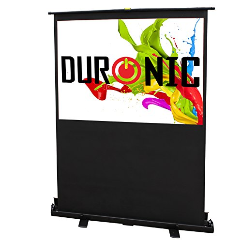 Duronic FPS60/43 - Floor Projector Screen - 60 ' (Screen: 122cm(w) X 91cm(h)) Portable Freestanding 4:3 Widescreen... Black Friday & Cyber Monday 2014