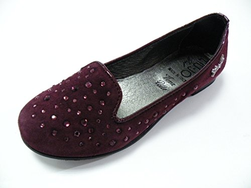 LIU-JO GIRL BALLERINA CAMOSCIO STRASS FEMMINA BORDO'