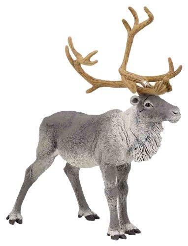 Papo Standing Reindeer Toy Figure - 1