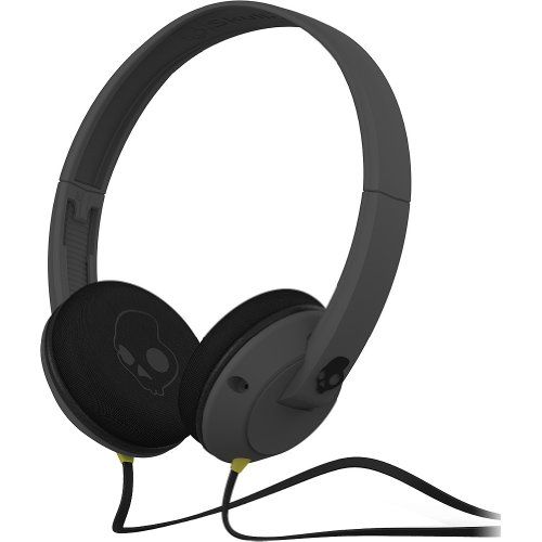 Skullcandy Uprock On Ear Wired Headphone - Carbon Grey / One Size