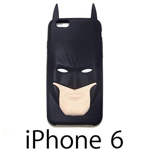 バットマン 【シリコンケース】 iPhone6ケース 4.7インチ ☆液晶保護シート付☆
