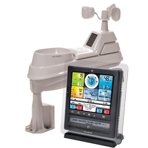 Acurite 01036 8-Inch Pro Color Digital Weather Station With Pc Connect