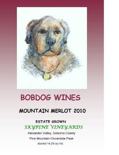 2010 Bobdog Mountain Merlot Alexander Valley 750 Ml
