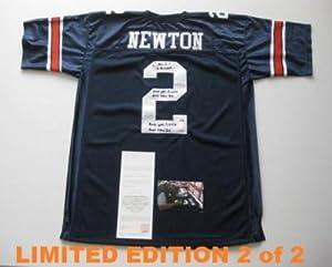 Autographed Cam Newton Jersey - AUBURN w HEISMAN LE 2 2 - Upper Deck Certified -... by Sports+Memorabilia