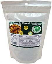 Low Carb Granola Cereal Mix - Roasted Almond amp Pumpkin Seed - LC Foods - All Natural - Paleo - Glu