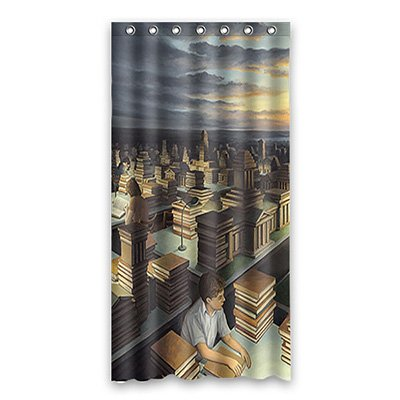 Flove custom olympic game personalize waterproof shower for Mona lisa shower curtain