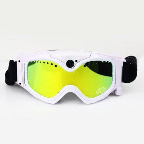 Cyclops Gear CG720SNOWWHT Cyclopsgear Cg720snowwht Snow Goggles 720p Hd Cam White