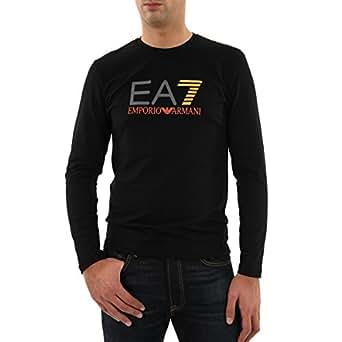 Emporio Armani - Homme - Tee Shirts Manches Courtes - S273447 Noir - Noir - L