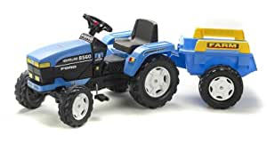 Falk New Holland Tractor and Trailer Ride-on