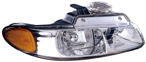 1998-1999 ( 98 99) Chrysler Town And Country Headlight Assembly (with QUAD Lamp) - Passenger Side - DOT Certified Headlamp