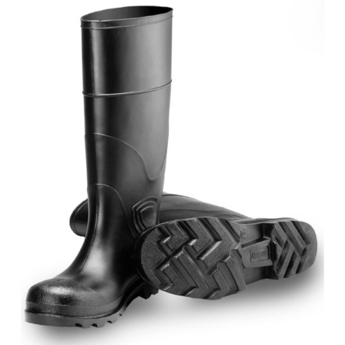 Tingley Rubber 31144 15-Inch Knee Boot, Size 6, Black