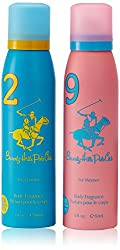 Beverly Hills Polo Club Deodorant for Women, (2x150ml, pack of 2)