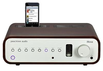 Peachtree Audio iNova Rosewood iPod Dock by Peachtree