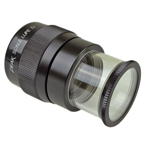 PEAK TS1975 Full Focus Scale Loupe, 7X Magnification, 0.71