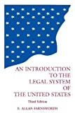 img - for Introduction to the Legal System of the United States Paperback June 28, 1999 book / textbook / text book