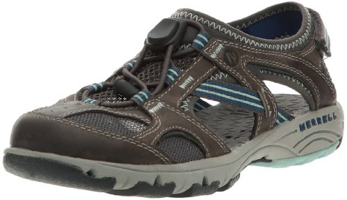 Merrell Women's Cambrian Pull Oyster Comfort Slip On J85384 5 UK