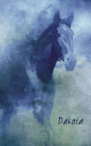 Dakota: 200-page Compact, Small Horse Journal (diary, notebook) - 5 x 8 inches