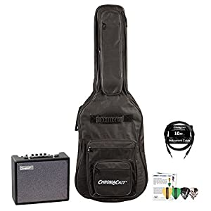 Sawtooth ST-AMP-10-KIT-2ST-AMP-10-KIT-2 10-Watt Electric Guitar Amp with Cable, Gig Bag and Pick Sampler
