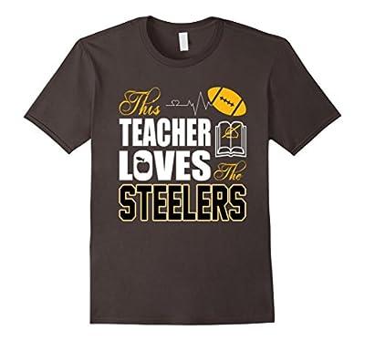 Apparel Sports Gear Football Tshirt Teacher Loves Steelers