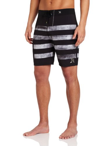 Hurley - Mens Quad Phantom Boardshorts, Size: 28, Color: Black