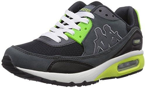 kappa-harlem-footwear-unisex-low-top-sneaker-unisex-adulto-grigio-grau-1633-grey-lime-44