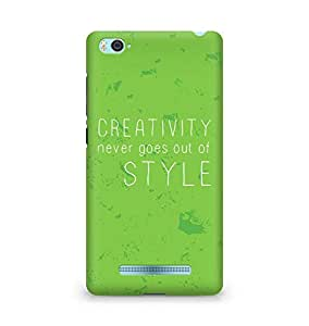 AMEZ creativity never goes out of style Back Cover For Xiaomi Mi4i