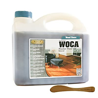 Woca Master Floor Oil- Natural 2.5 Liters