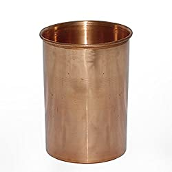 Dungri India Pure Copper Glass Drinkware Tumbler Indian Copper Utensils