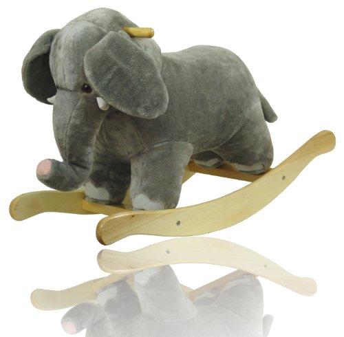 Schaukeltier Elefant Schaukelpferd Plüschtier