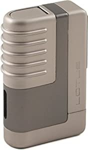 Lotus L41 Dark & Light Gunmetal Lighter