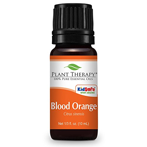 Blood Orange Essential Oil. 10 ml (1/3 oz). 100% Pure, Undiluted, Therapeutic Grade.