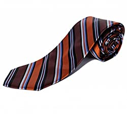 BLACKSMITHH Striped Mens Tie