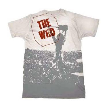 The Who 'Live' white t-shirt (X-Large)