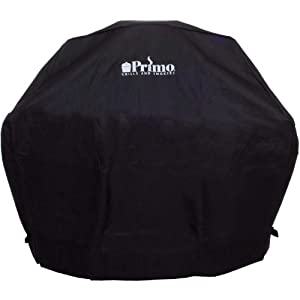 Primo 414 Grill Cover for Oval XL in Compact Table, Oval XL in Cart and Oval Junior... by Primo