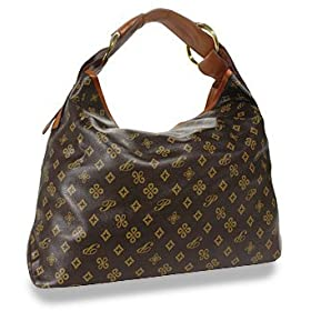 Louis Vuitton Inspired Large Hobo