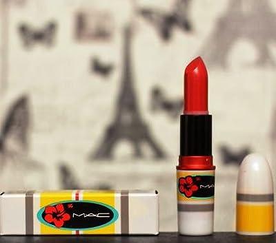 MAC Surf, Baby! lipstick HIBISCUS