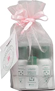 Aubrey Organics - Dry Skin Travel Kit Rosa Mosqueta - 4 Items