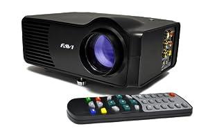 FAVI Entertainment RioHD-LED-3 Home Theater LED Projector (Black)