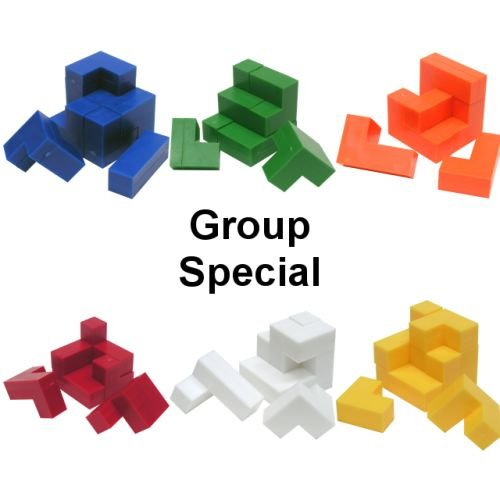 Cheap Fun Toysmith Group Special – a set of 6 Cube Puzzle – Impuzzables puzzles (difficulty 7 of 10) (B0055ODQMA)