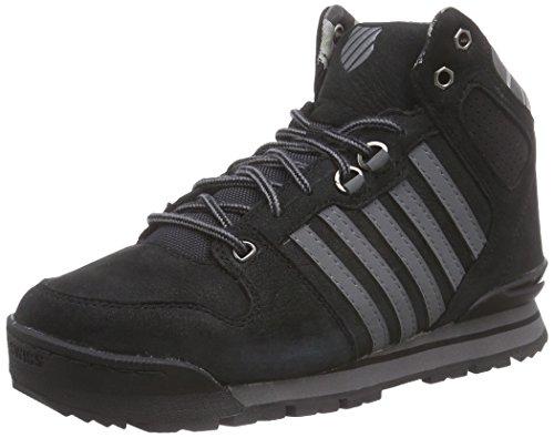 K-SwissSi-18 Premier Hiker - Sneaker uomo , Nero (Schwarz (Black/Charcoal/Camo 091)), 41