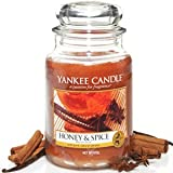 Yankee Candle Housewarmer Jar - Honey and Spice - Large (22oz)