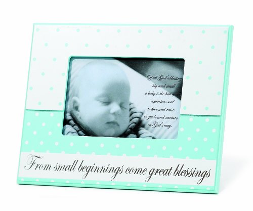 Dicksons From Small Beginnings Photo Frame, Blue - 1