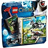 Game / Play LEGO Chima 70107 Skunk Attack Features Wolf Head With Target Skunk Speeder Ripcord Power-up Toy /...